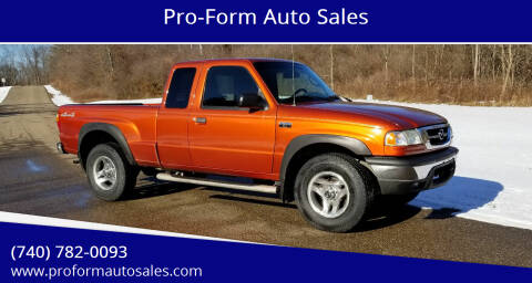 2004 Mazda B-Series Truck for sale at Pro-Form Auto Sales in Belmont OH
