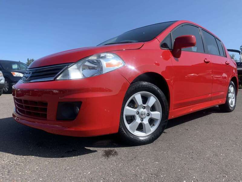 2010 Nissan Versa for sale at Autobahn Sales And Service LLC in Hermantown MN
