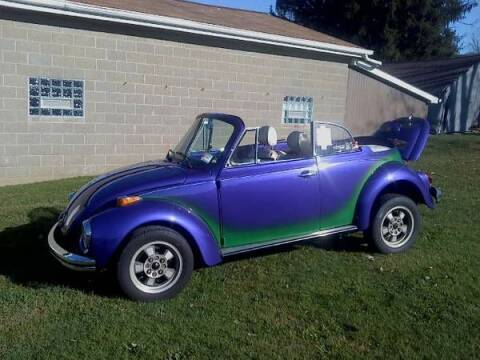 1977 Volkswagen Super Beetle for sale at Classic Car Deals in Cadillac MI