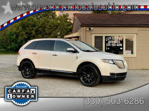 2013 Lincoln MKX for sale at Coventry Auto Sales in Youngstown OH