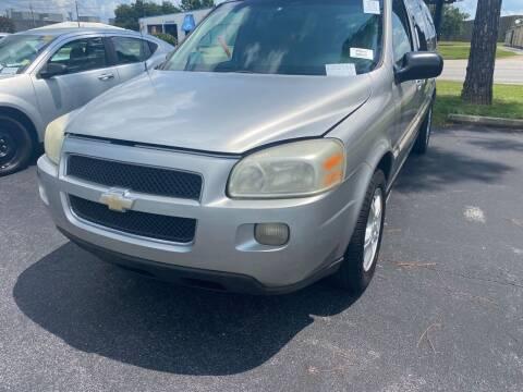 2005 Chevrolet Uplander for sale at Nash's Auto Sales Used Car Dealer in Milton FL