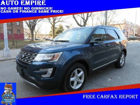 2016 Ford Explorer for sale at Auto Empire in Brooklyn NY