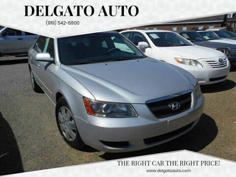 2008 Hyundai Sonata for sale at Delgato Auto in Pittsboro NC