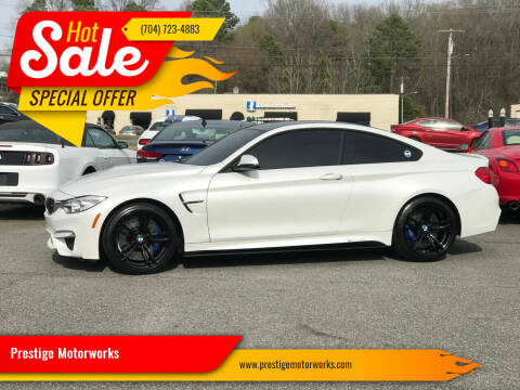 2015 BMW M4 for sale at Prestige Motorworks in Concord NC