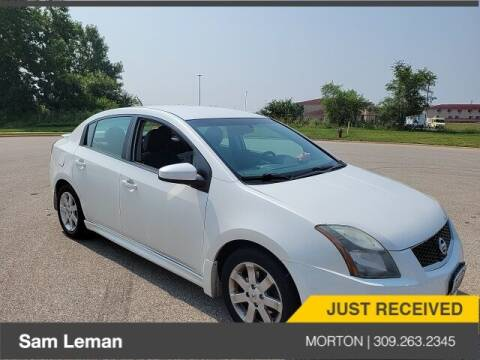 2010 Nissan Sentra for sale at Sam Leman CDJRF Morton in Morton IL