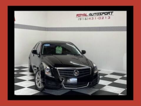2013 Cadillac ATS for sale at Royal AutoSport in Sacramento CA