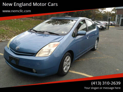 2005 Toyota Prius for sale at New England Motor Cars in Springfield MA