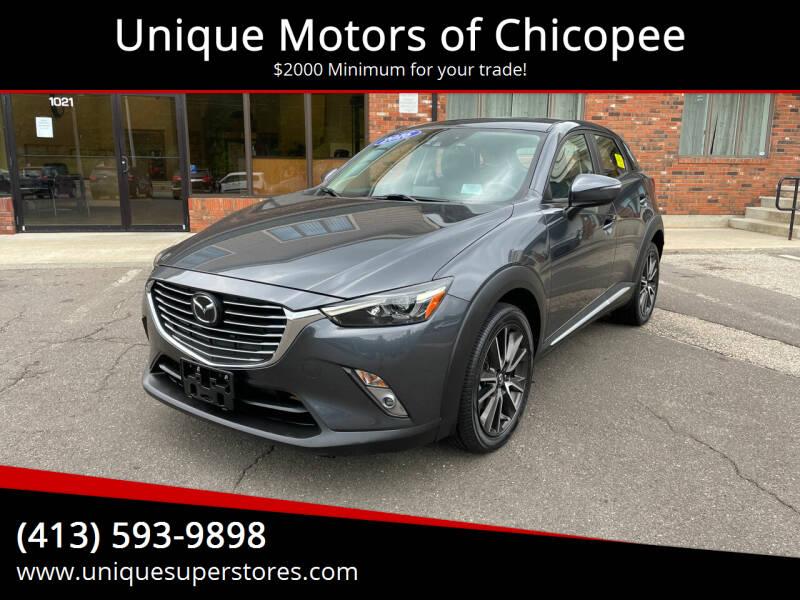 2016 Mazda CX-3 for sale at Unique Motors of Chicopee in Chicopee MA