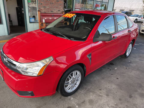 2008 Ford Focus for sale at Low Auto Sales in Sedro Woolley WA