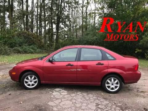 2005 Ford Focus for sale at Ryan Motors LLC in Warsaw IN