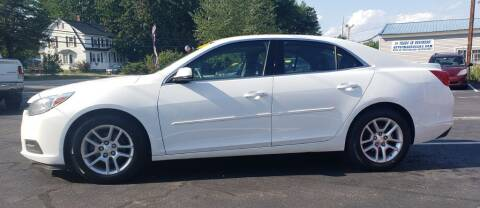 2015 Chevrolet Malibu for sale at Healey Auto in Rochester NH