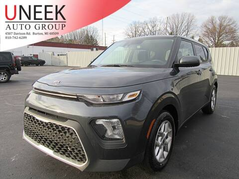 2021 Kia Soul for sale at Uneek Auto Group LLC in Burton MI