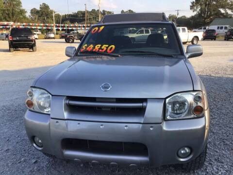 2001 Nissan Frontier for sale at K & E Auto Sales in Ardmore AL