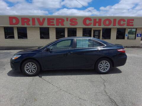 2016 Toyota Camry for sale at Driver's Choice Sherman in Sherman TX