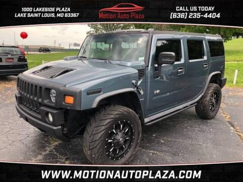 2005 HUMMER H2 for sale at Motion Auto Plaza in Lakeside MO