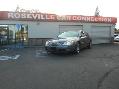 2007 Buick Lucerne for sale at ROSEVILLE CAR CONNECTION in Roseville CA