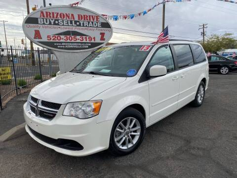 2013 Dodge Grand Caravan for sale at Arizona Drive LLC in Tucson AZ