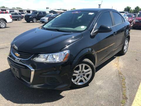 2018 Chevrolet Sonic for sale at Capitol Hill Auto Sales LLC in Denver CO