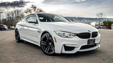 2016 BMW M4 for sale at MUSCLE MOTORS AUTO SALES INC in Reno NV