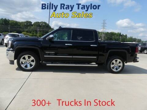 2018 GMC Sierra 1500 for sale at Billy Ray Taylor Auto Sales in Cullman AL