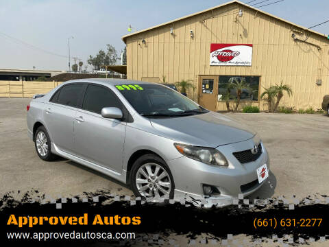 2010 Toyota Corolla for sale at Approved Autos in Bakersfield CA