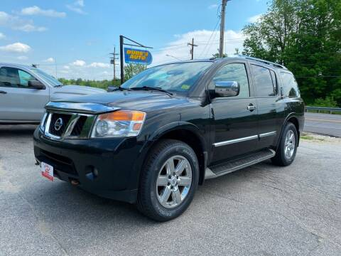 2011 Nissan Armada for sale at Dubes Auto Sales in Lewiston ME