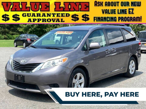 2014 Toyota Sienna for sale at Broadway Garage of Columbia County Inc. in Hudson NY