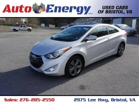 2013 Hyundai Elantra Coupe for sale at Auto Energy-Bristol in Bristol VA