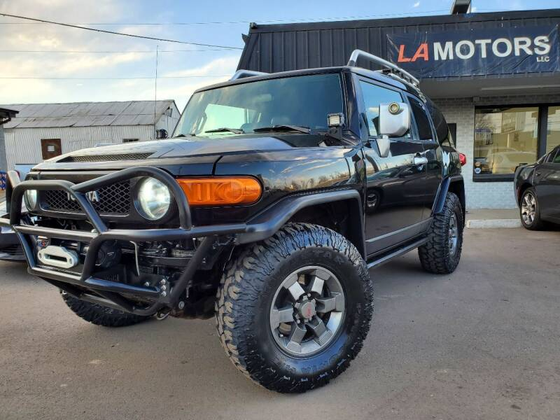 2007 Toyota FJ Cruiser for sale at LA Motors LLC in Denver CO