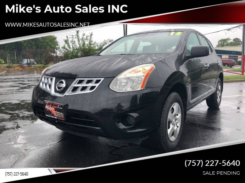 2013 Nissan Rogue for sale at Mike's Auto Sales INC in Chesapeake VA