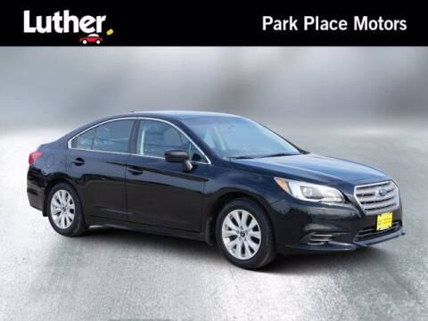 2016 Subaru Legacy for sale at Park Place Motor Cars in Rochester MN