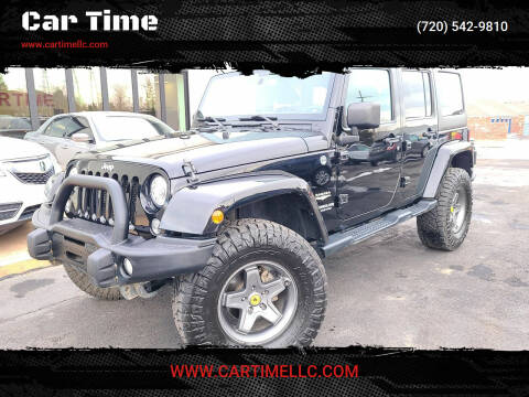 2014 Jeep Wrangler Unlimited for sale at Car Time in Denver CO
