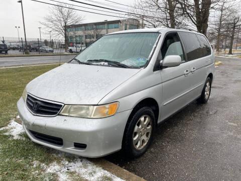 2002 Honda Odyssey for sale at JerseyMotorsInc.com in Teterboro NJ