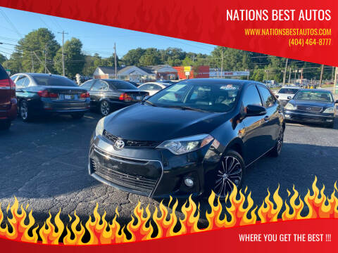 2014 Toyota Corolla for sale at Nations Best Autos in Decatur GA