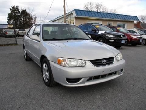 2002 Toyota Corolla for sale at Supermax Autos in Strasburg VA