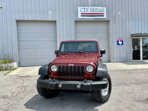 2009 Jeep Wrangler Unlimited for sale at CTN MOTORS in Houston TX