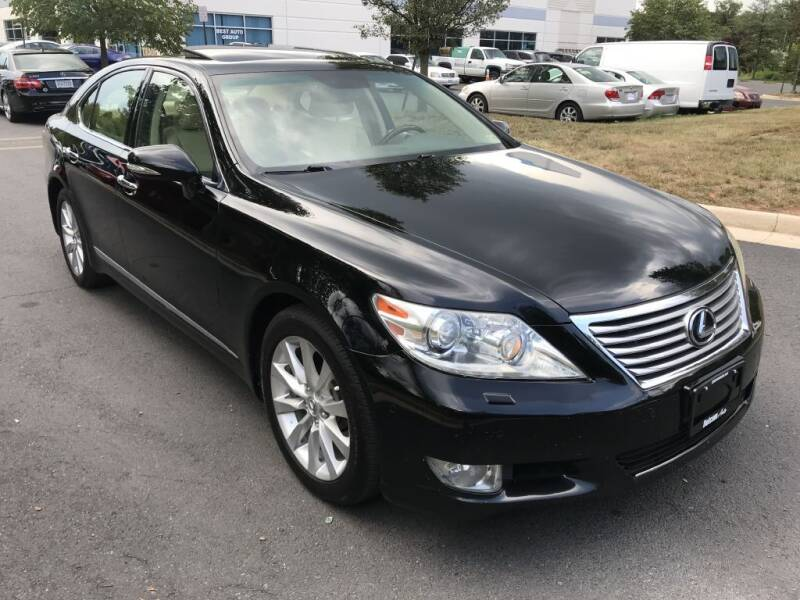 2011 Lexus LS 460 for sale at Dotcom Auto in Chantilly VA