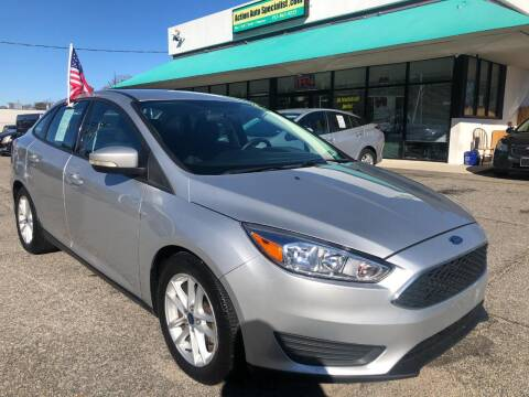 2015 Ford Focus for sale at Action Auto Specialist in Norfolk VA