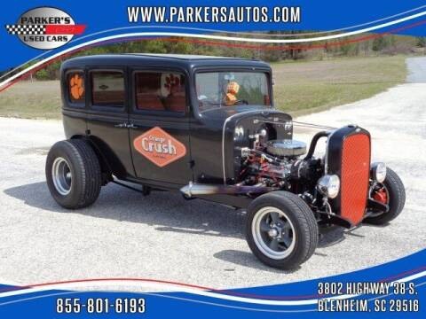 1932 Chevrolet Confederate for sale at Parker's Used Cars in Blenheim SC
