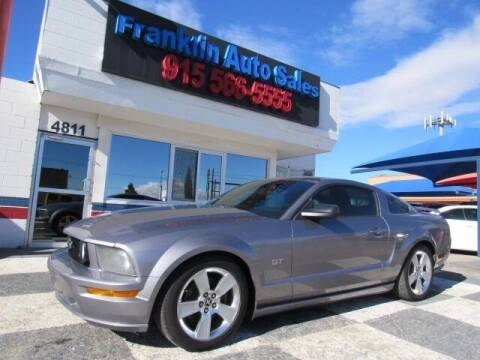 2006 Ford Mustang for sale at Franklin Auto Sales in El Paso TX