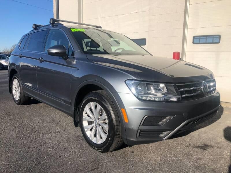 2018 Volkswagen Tiguan for sale at Zimmerman's Automotive in Mechanicsburg PA