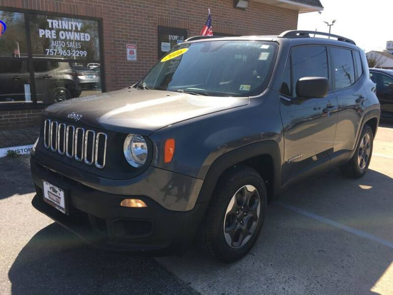 2016 Jeep Renegade for sale at Bankruptcy Car Financing in Norfolk VA