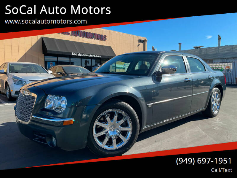2007 Chrysler 300 for sale at SoCal Auto Motors in Costa Mesa CA