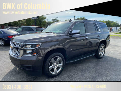 2017 Chevrolet Tahoe for sale at BWK of Columbia in Columbia SC