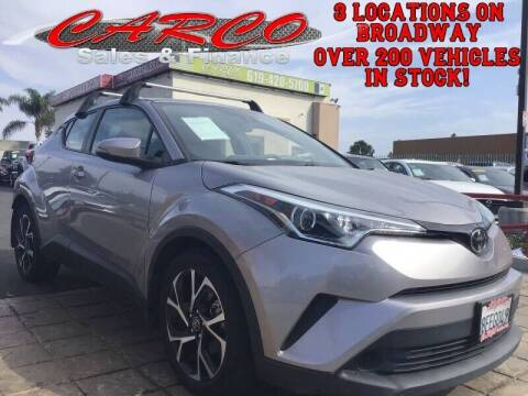 2018 Toyota C-HR for sale at CARCO SALES & FINANCE in Chula Vista CA