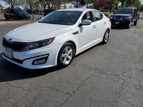 2015 Kia Optima for sale at Matador Motors in Sacramento CA