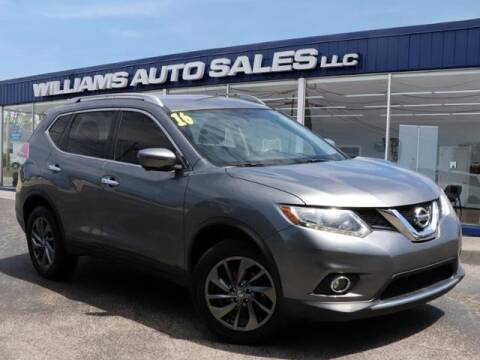 2016 Nissan Rogue for sale at Williams Auto Sales, LLC in Cookeville TN