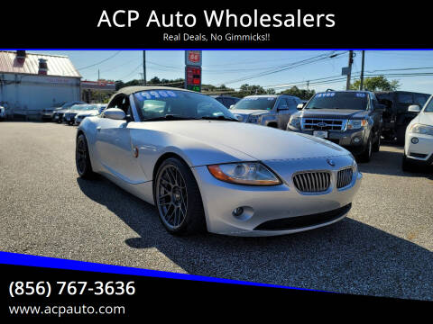 2004 BMW Z4 for sale at ACP Auto Wholesalers in Berlin NJ