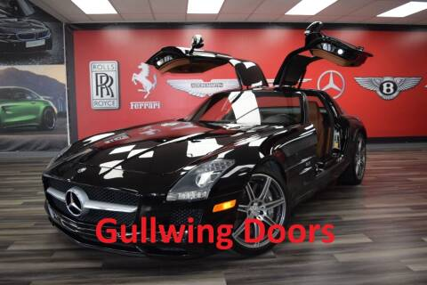 2011 Mercedes-Benz SLS AMG for sale at Icon Exotics in Houston TX