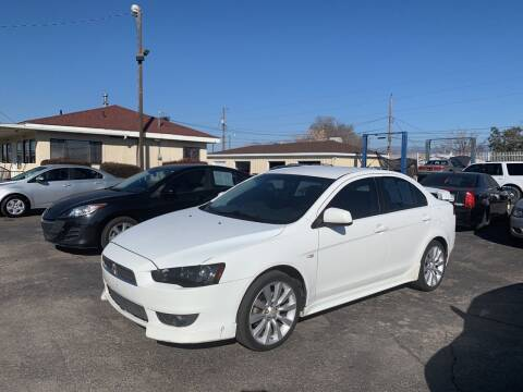 2008 Mitsubishi Lancer for sale at Robert B Gibson Auto Sales INC in Albuquerque NM